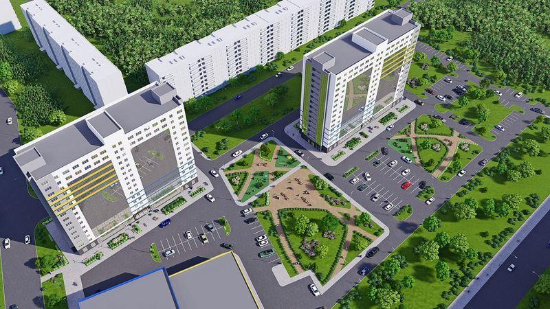 Комплекс апартаментов «WINGS на Крыленко» растет по этажу в месяц (Фонтанка.ру)
